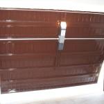 Porta garage dall'interno