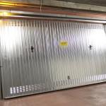 Porta garage cromata